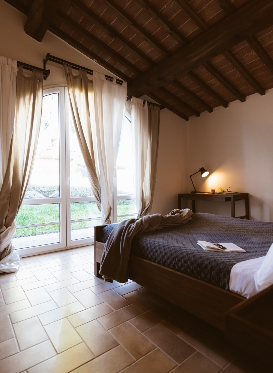 2 bedroom apartment in Tuscany